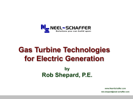 Power Plant Primer - Combustion Turbines