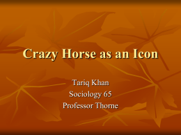 Crazy Horse as an Icon