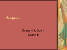 an analysis of pride versus wisdom in antigone a play by sophocles Antigone (/ æ n ˈ t ɪ ɡ ə n i / ann-tig-ə-nee ancient greek: ἀντιγόνη) is a tragedy by sophocles written in or before 441 bc of the three theban plays antigone is the third in order of the events depicted in the plays, but it is the first that was written.