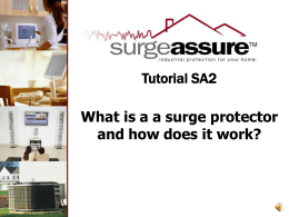What is aa surge protector and how does it work?