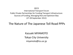 PowerPoint プレゼンテーション - International Transport Forum