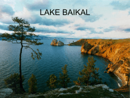 LAKE BAIKAL - World of Teaching