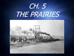0.0_CH 5 THE PRAIRIES