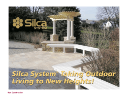 Adding Silca Grate to a New Deck Structure