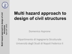 Multi hazard approach to design of civil structures