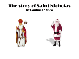 The story of Saint Nicholas Pauline o`shea