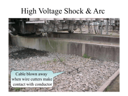 High Voltage Shock Effects