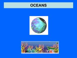Oceans - Vigyan Prasar