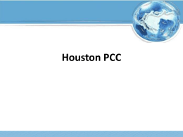 National PCC Day Presentation - Houston Postal Customer Council