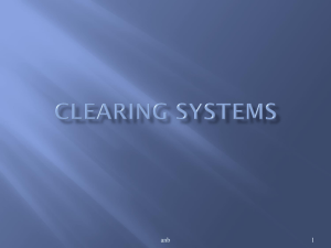 Clearing Systems