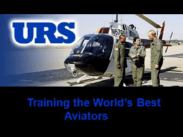 TD 42: Charts - URS at Fort Rucker