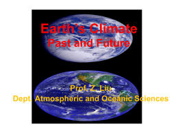 L1 - Atmospheric and Oceanic Sciences