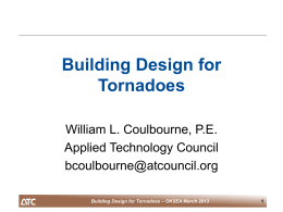 Building Design for Tornadoes - Oklahoma Structural Engineer`s