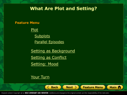 Plot and Setting PowerPoint