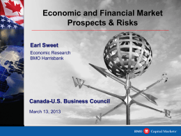 U.S. ECONOMIC OUTLOOK - Canada