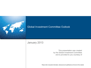Global Investment Committee Outlook