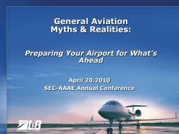 General Aviation Myths & Realities