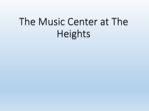 The Music Center at The Heights - I