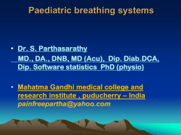 Size: 6 MB - paediatric breathing systems