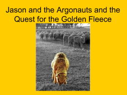 Jason and the Quest for the Golden Fleece 2011