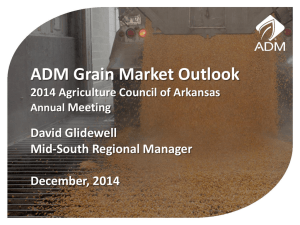ADM - Agricultural Council of Arkansas