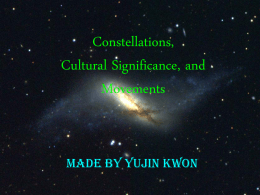 Constellations & Cultural Significance