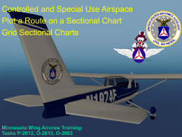Controlled and Special Use Airspace