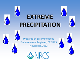 What is Extreme Precipitation?