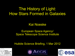 Star formation in galaxies over the last 10 billion
