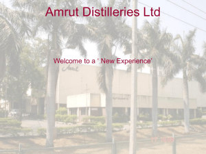 Welcome to Master Class on Amrut