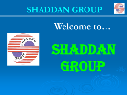 Mineral Life Int`l - Shaddan Group of companies