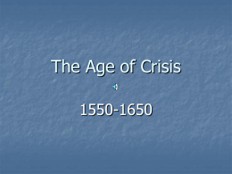 The Age of Crisis