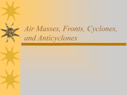 Air masses, depressions & anticyclones ppt