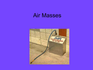 Air Masses (PowerPoint)