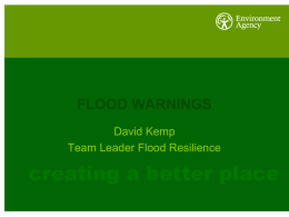 Environment Agency - Suffolk Resilience