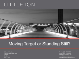 Damian Brown - Moving Target or Standing Still