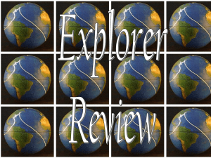 Explorers Multiple Choice - 2005