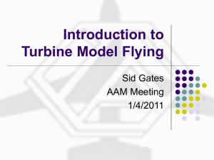 Introduction to EDF (Electric Ducted Fan) Model