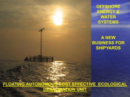 Floating WindTurbine YDRIADA Presentation