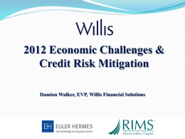 Willis Financial Solutions Introduction to Credit Insurance – ATK