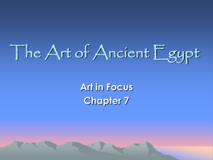 Art of Ancient Egypt ppt