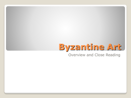 Byzantine Art PowerPoint