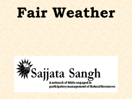 Weather Insurance in India