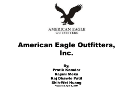 American Eagle Outfitters, Inc.