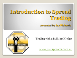 Introduction to Futures Trading Basic Concepts