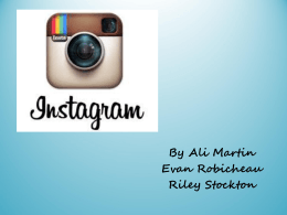 Instagram Powerpoint