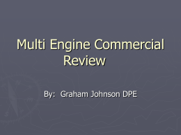 Multi Engine Commercial Review