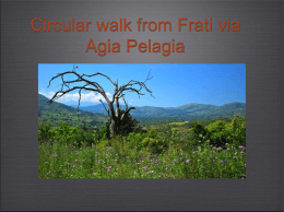 Circular walk from Frati via Agia Pelagia