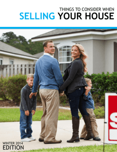 Selling Your House 2014 - Keeping Current Matters