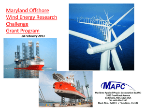 Maritime Applied Physics Corporation Presentation